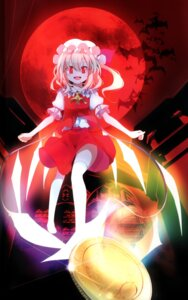 Rating: Safe Score: 17 Tags: binding_discoloration flandre_scarlet oouso thighhighs touhou usotsukiya User: 日理萬姬