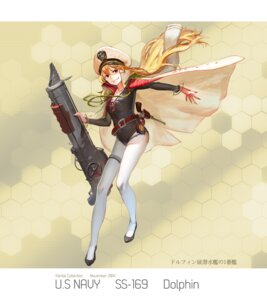 Rating: Safe Score: 26 Tags: gun kantai_collection nanairono_kaigashi pantyhose User: blooregardo