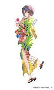 Rating: Questionable Score: 31 Tags: ash_arms ass cleavage mimoza no_bra open_shirt yukata User: hiroimo2
