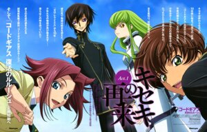 Rating: Safe Score: 16 Tags: c.c. chiba_yuriko code_geass kallen_stadtfeld kururugi_suzaku lelouch_lamperouge User: drop