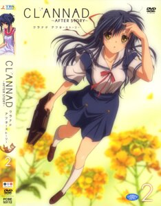 Rating: Safe Score: 11 Tags: clannad clannad_after_story disc_cover sagara_misae seifuku User: sdlin2006
