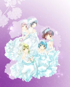 Rating: Safe Score: 16 Tags: akemi_homura dress isa_(chiyo-s) kaname_madoka miki_sayaka puella_magi_madoka_magica sakura_kyouko tomoe_mami wedding_dress User: Radioactive
