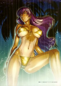 Rating: Questionable Score: 28 Tags: bikini black_lagoon cleavage erect_nipples hiroe_rei roberta swimsuits tan_lines underboob wet User: drop