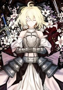 Rating: Safe Score: 41 Tags: armor cloudy.r fate/stay_night saber sword User: Mr_GT