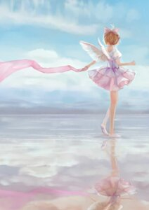 Rating: Safe Score: 28 Tags: card_captor_sakura dress eve_kurigoyu kinomoto_sakura wings User: charunetra