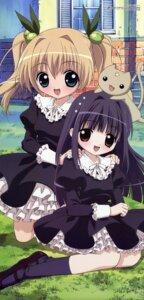 Rating: Safe Score: 11 Tags: dress hanazono_karin kamichama_karin kujyou_himeka lolita_fashion neko shii-chan yoshida_yuuko User: vita
