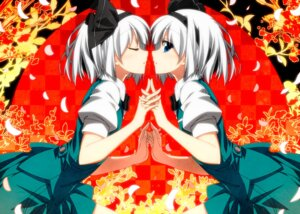 Rating: Safe Score: 37 Tags: konpaku_youmu sazanami_mio touhou User: Mr_GT