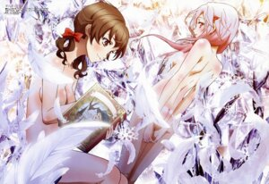 Rating: Questionable Score: 123 Tags: guilty_crown menjou_hare naked shibuya_sakae yuzuriha_inori User: Jigsy