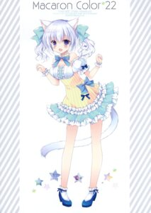 Rating: Questionable Score: 16 Tags: animal_ears cascade dress hasekura_chiaki heels nekomimi tagme tail User: Radioactive