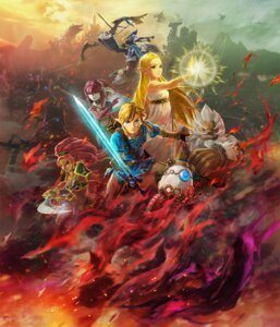 Rating: Questionable Score: 11 Tags: armor daruk dress hyrule_warriors koei_tecmo link pointy_ears princess_mipha princess_zelda revali sword tagme the_legend_of_zelda urbosa weapon User: fly24