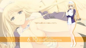 Rating: Questionable Score: 53 Tags: akatsuki-works iizuki_tasuku lovely_x_cation_2 nurse wallpaper yoshinoya_seine User: girlcelly