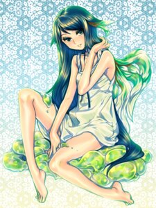 Rating: Safe Score: 11 Tags: animal_ears dress julion_(akesuzu) saya saya_no_uta User: charunetra