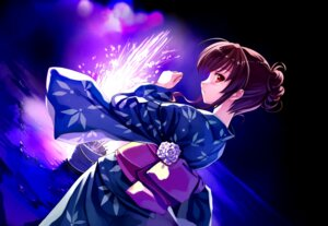 Rating: Safe Score: 78 Tags: abhar deep_blue_sky_&_pure_white_wings game_cg misaki_kurehito nakano_hinata yukata User: petopeto
