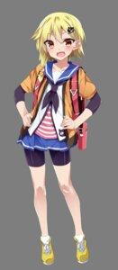 Rating: Safe Score: 18 Tags: bike_shorts kannon_toyomi mtu onsen_musume seifuku transparent_png User: saemonnokami