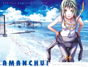 Rating: Safe Score: 12 Tags: amanchu! amano_kozue kohinata_hikari screening swimsuits User: Vito