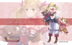 Rating: Safe Score: 18 Tags: atelier atelier_rorona kishida_mel lionela_heinze neko wallpaper User: yumichi-sama