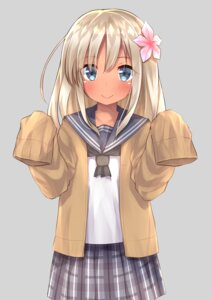 Rating: Safe Score: 50 Tags: go-1 kantai_collection ro-500 seifuku sweater User: Mr_GT