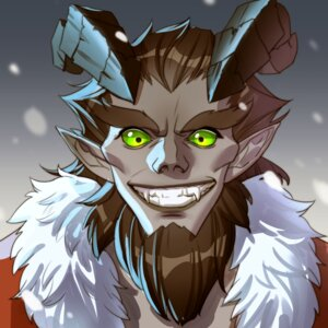 Rating: Safe Score: 8 Tags: christmas hanshi horns junkrat male overwatch pointy_ears User: charunetra
