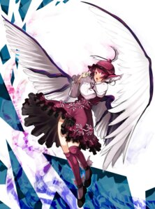 Rating: Safe Score: 24 Tags: animal_ears dress garakuta mystia_lorelei touhou wings User: Mr_GT
