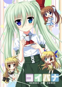 Rating: Safe Score: 18 Tags: chibi einhart_stratos endori fate_testarossa heterochromia mahou_shoujo_lyrical_nanoha mahou_shoujo_lyrical_nanoha_vivid seifuku takamachi_nanoha vivio User: 椎名深夏