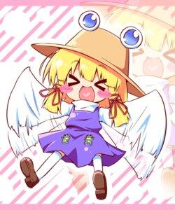 Rating: Safe Score: 11 Tags: ayakashi_(artist) chibi moriya_suwako touhou User: Manabi