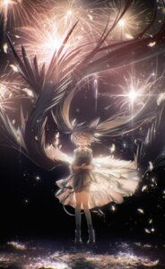 Rating: Questionable Score: 26 Tags: dress hatsune_miku lengchan vocaloid wings User: Dreista