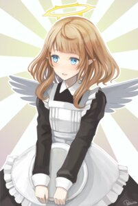 Rating: Safe Score: 11 Tags: angel maid pointy_ears shiotenshi_channel shiotenshi_riel tagme wings User: Radioactive