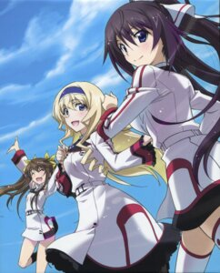 Rating: Safe Score: 33 Tags: cecilia_alcott huang_lingyin infinite_stratos infinite_stratos_2 screening seifuku shinonono_houki thighhighs User: makiesan