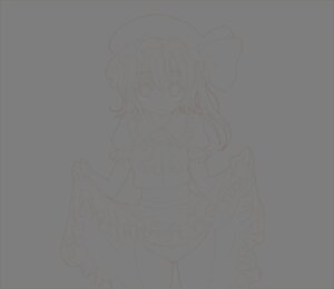 Rating: Questionable Score: 8 Tags: flandre_scarlet haruki_5050 line_art pantsu skirt_lift touhou transparent_png User: itsu-chan
