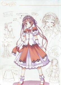Rating: Safe Score: 3 Tags: character_design fixme ko~cha minette shukufuku_no_campanella sketch stitchme User: admin2