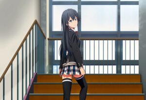 Rating: Safe Score: 55 Tags: duplicate seifuku sweater thighhighs yahari_ore_no_seishun_lovecome_wa_machigatteiru. yukinoshita_yukino User: deforation