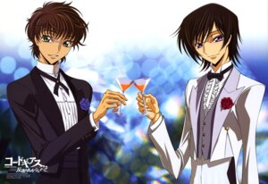 Rating: Safe Score: 14 Tags: code_geass fukano_youichi kururugi_suzaku lelouch_lamperouge male User: Aurelia