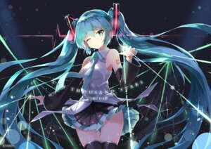 Rating: Safe Score: 84 Tags: hatsune_miku kuroi_asahi tattoo thighhighs vocaloid User: Mr_GT