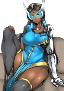Rating: Safe Score: 25 Tags: gggg headphones mecha_musume overwatch symmetra_(overwatch) thighhighs User: mash