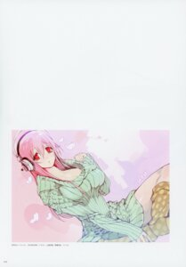 Rating: Questionable Score: 6 Tags: cleavage dress headphones nitroplus sonico super_sonico sweater tagme User: Radioactive