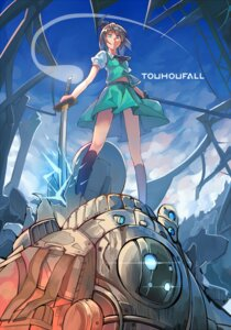 Rating: Safe Score: 24 Tags: crossover konkou_seishou konpaku_youmu mecha sword titanfall touhou User: Mr_GT