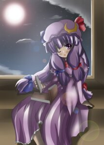 Rating: Safe Score: 2 Tags: patchouli_knowledge shi_ecchi touhou User: konstargirl