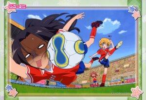 Rating: Safe Score: 5 Tags: lucky_star patricia_martin soccer tamura_hiyori User: Onpu