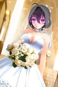 Rating: Safe Score: 68 Tags: beifeng_han cleavage dress miyaura_sanshio no_bra wedding_dress User: nphuongsun93