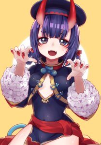 Rating: Safe Score: 18 Tags: chinadress cleavage fate/grand_order horns no_bra shuten_douji_(fate/grand_order) soramame_pikuto User: BattlequeenYume