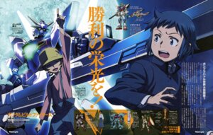 Rating: Safe Score: 5 Tags: gundam gundam_build_fighters iori_sei oonuki_kenichi ootsuka_ken yasaka_mao User: drop