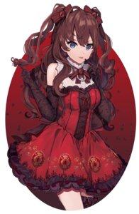 Rating: Safe Score: 26 Tags: dress garter ichinose_shiki the_idolm@ster the_idolm@ster_cinderella_girls tirunokiri User: Mr_GT