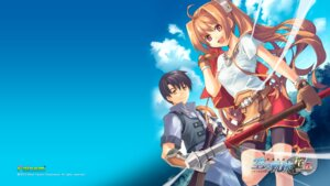 Rating: Safe Score: 13 Tags: bike_shorts eiyuu_densetsu estelle_bright falcom joshua_bright wallpaper User: aluter