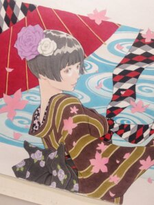 Rating: Questionable Score: 9 Tags: eisakusaku kimono umbrella User: ferkunxd