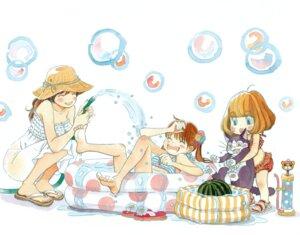 Rating: Safe Score: 5 Tags: bikini kawamoto_akari kawamoto_hinata kawamoto_momo sangatsu_no_lion swimsuits umino_chica User: yumichi-sama