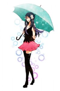 Rating: Safe Score: 55 Tags: arisaka_ako heels hikari_(pokemon) pokemon thighhighs umbrella User: anaraquelk2