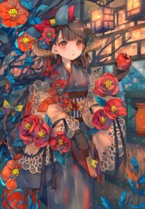 Rating: Safe Score: 56 Tags: cha_goma horns kimono User: Mr_GT