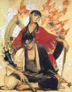 Rating: Safe Score: 2 Tags: asano_rin blade_of_the_immortal manji samura_hiroaki User: Radioactive