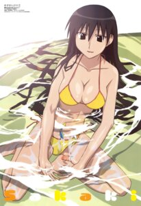 Rating: Safe Score: 28 Tags: azumanga_daioh bikini cleavage ishihama_masashi sakaki swimsuits User: boon