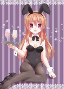 Rating: Safe Score: 20 Tags: animal_ears bunny_ears bunny_girl cleavage ikeda_yuuki jpeg_artifacts pantyhose User: ddns001